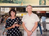Ivan Medek a Helena Medková (Vídeň - Schwechat, 1987)