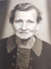 Grandmother Anna Schrott