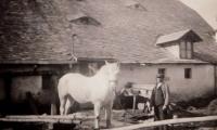 Grandparents farm in Domasov