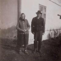 Grandparents Anna and Josef Schroth