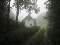 Bývalá fořtovna. Jediný dům, který dodnes stojí v zaniklé osadě Růženec