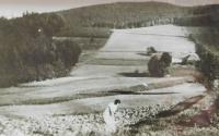 Rodný dům Alžběty Blahutové v zaniklé osadě  Růženec (Rosenkranz)