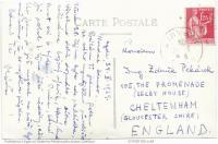 pohled psaný bratrovi do Anglie, 1939
