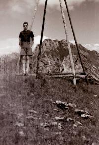 Rudolf Grossmann, Rozsutec, 30. léta