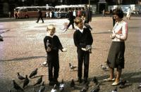 Manželka a synové, dovolená v Evropě 1964