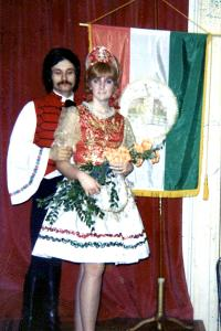 V maďarském klubu ve Philadelphii 1969