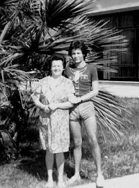 Robert - setkáni s maminkou, Split 1985