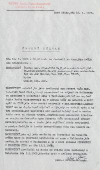 Vyšetřovací složka Roberta Vana, str. 10