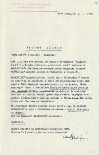 Vyšetřovací složka Roberta Vana, str. 17