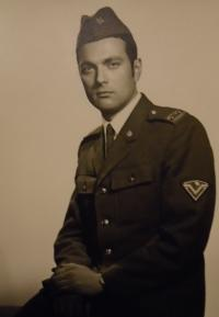 Vit Ryšánek - the army in 1968