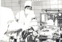 Liana Hanusová, instrumentářka na operačním sále