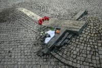 památník místa upálení Jana Palacha - Václavské náměstí