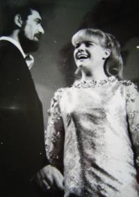 1967, s W. Matuškou, zlatí slavíci