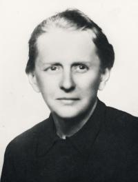 Maminka Marie Maršátová Hofbauerová