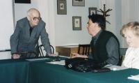 Na semináři s profesory Gasparovem a Červenkou