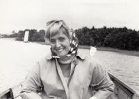 Švédsko 1964 Jana Vydrová