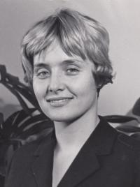 Jana Vydrová, New York 1964