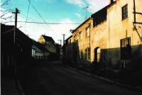 Bývalý dům a truhlářství, Karlova ulice 119, Mšeno (1995)