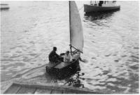 Miloš na plachetnici, léto 1963