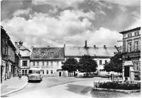 Mšeno, náměstí, asi 1950