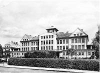 Mšeno škola, asi 1950