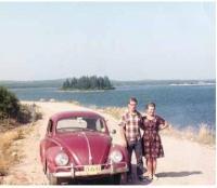 Miloš s matkou, Husquodoboit Harbour, 1967