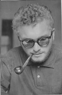 Dr Skála jako student Fakulty dětského lékařství, Praha 1960