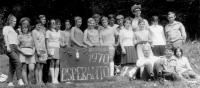 Druhý katolický esperantský tábor v Herborticích v roce 1970