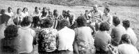 Sedmý katolický esperantský tábor v Herborticích v roce 1977