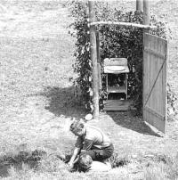 Třetí katolický esperantský tábor v Herborticích v roce 1971