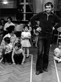 Improvisation with children, Tamás Fodor, 1978