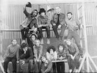 Ferenc Halmos: Vintage, staff photo, 1972