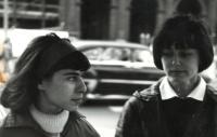 Zsuzsa Gáspár és Emőke Dobos, 1965-66
