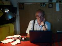 Miklós Fogarassy at work