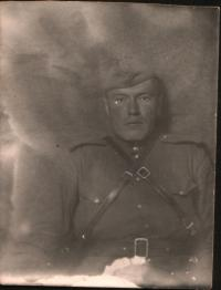 Vladimír Souček na dobové fotografii