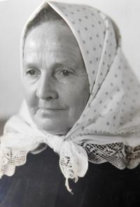 Pavla Bednárová, the mother