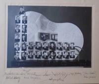 11 - tablo Mistrovská škola pro truhláře České Budějovice 1947 - 1949