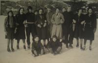 Děti z různých národností v Brně, rok 1937