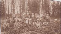 Volyňská chmelnice rodiny Zahradníkovy