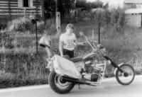 Chopper vlastní výroby 1983