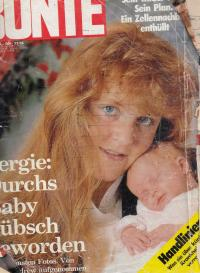 Titulní strana časopisu s článkem o emigraci Hlavatého. 1988