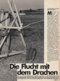 Článek v rakouském časopise o emigraci Hlavatého