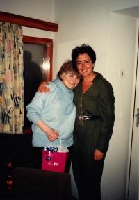 S terapeutkou Dianou Hok, 90. léta