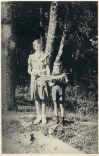 sourozenci Věra a Zdeněk Rerychovi