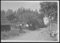 hájovna OBORA 1956 cesta od Zahrádky