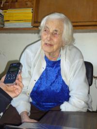 Edita Březinová/Edith Rosen v lednu 2015