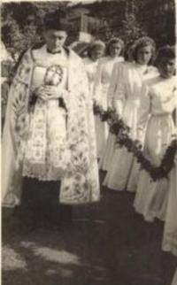 1947 - primiční mše svatá P. Vnislava VI.