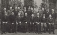 1940 - duchovní cvičení na gymnáziu
