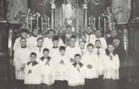 1966 - Bazilika na Starém Brně, Vnislav jako kaplan