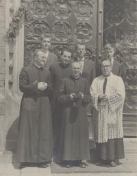 1970 - Působení v bazilice sv. Petra a Pavla v Brně III.